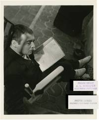 Crime and Punishment (Original candid photograph of Peter Lorre from the 1935 film) by  Edward Arnold (starring)  Josef [Joseph] (director); Fyodor Dostoevsky (novel); Joseph Anthony (screenwriter); Irving Lippman (photographer); Peter Lorre - 1935 - from Royal Books, Inc. (SKU: 135077)