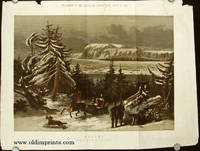 Quebec. From a Drawing by R. P. Leitch. Special Supplement to The Illustrated London News. March 15, 1862