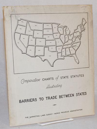 Washington D.C.: GPO, 1939. vii, 88p., 9 x 11.5 inch wraps, somewhat soiled. Works progress administ...