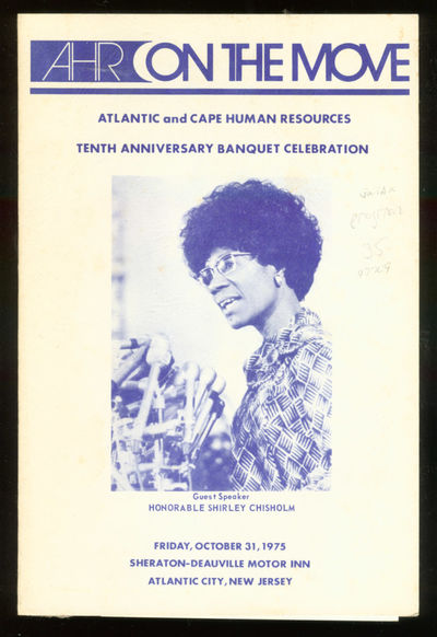 Atlantic City NJ: Atlantic Human Resources, 1975. Unbound. Near Fine. First edition. Near fine, one ...