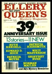 image of ELLERY QUEEN'S MYSTERY - Volume 75, number 3 - March 10 1980 - 39th Anniversary Issue