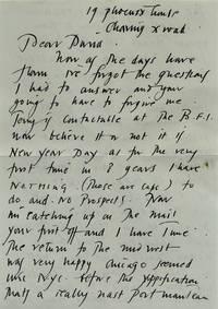 DEREK JARMAN Archive of unpublished signed autographed letters (ca. 1985-88) by Derek Jarman - Signed - 1985-88 - from Walter Reuben, Inc. (SKU: WALTER-FILM005172)