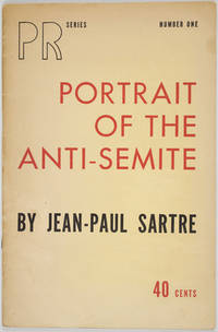 New York: Partisan Review, 1946. First American edition. Softcover. g. Octavo. 27, pp. Original prin...