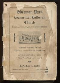 Ladies Aid Society of Sherman Park English Evangelical Lutheran Church.  (Milwaukee, WI)