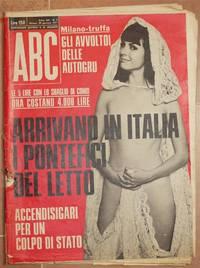 ABC ANNO XII - N. 5 - MILANO 29 GENNAIO 1971 SETTIMANALE POLITICO E DI ATTUALITA