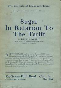 SUGAR IN RELATION TO THE TARIFF