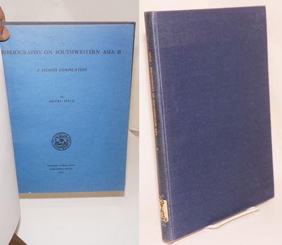 Miami, FL: University of Miami Press, 1955. Hardcover. 126p., original wraps bound inside library bo...