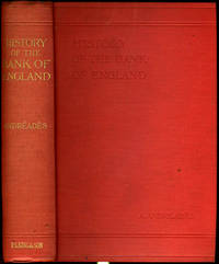 History of the Bank of England, 1640 to 1903