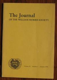 The Journal of the William Morris Society Volume IX Number 1 Autumn 1990