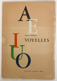 Voyelles, 5 incisioni di Luigi Veronesi