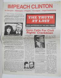 The Truth at Last, issue 403 News suppressed by the daily press