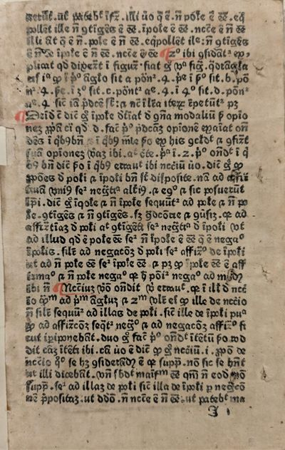 Scriptum in logica sua. // Explicit...