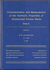 Characterization and Measurement of the Hydraulic Properties of Unsaturated Porous Media Part 2....