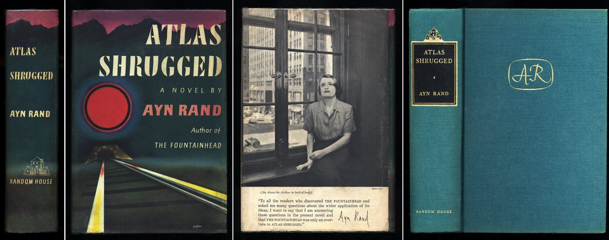 Atlas Shrugged By Ayn Rand 1st Edition 1957 From Authors Artists And Biblio Com