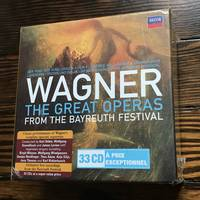 Wagner: The Great Operas from the Bayreuth Festival 33 CD Box Set Decca NEW