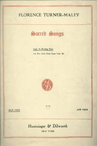 LIGHT AT EVENING TIDE FROM SACRED SONGS PIANO SHEET MUSIC