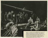 Great Expectations (Two original photographs of David Lean, Alec Guinness, John Mills, and others on the set of the 1946 film)