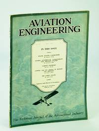 Aviation Engineering (Magazine) - The Technical Journal of the Aeronautical Industry, May 1930 -  The Comet Engine / Cabin Interiors