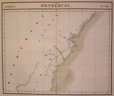 Brussels: Vandermaelen, Phillipe Marie, 1827. unbound. very good. Map. Large format lithograph of Ea...