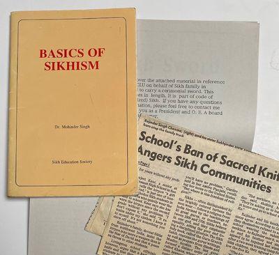 Vancouver: Sikh Education Society, 1989. 41p., staplebound pamphlet, revised edition, minor handling...
