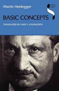 image of Basic Concepts (Studies in Continental Thought)