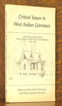 CRITICAL ISSUES IN WEST INDIAN LITERATURE