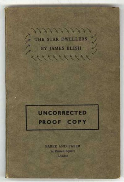 London: Faber and Faber, 1962. Octavo, printed brown wrappers. Advance copy (uncorrected proof) of t...