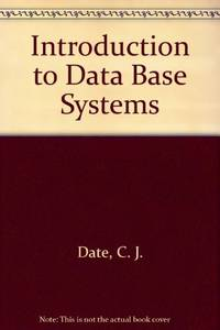 Introduction to Data Base Systems