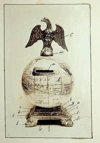 [ Original art, Design Patent ] DESIGN PATENT 19,140 Toy Money Safe patented June 4, 1889