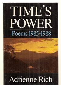 image of TIME'S POWER: POEMS 1985---1988