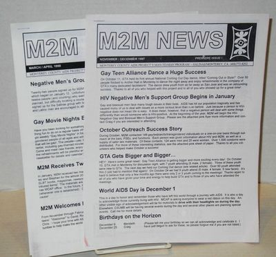 Salinas/Monterey: Monterey County AIDS Project Man-to-Man Program, 1998. Two issues, various paginat...