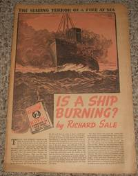 Is A Ship Burning?  Sunday Supplement of The Philadelphia Record for April 23rd 1939