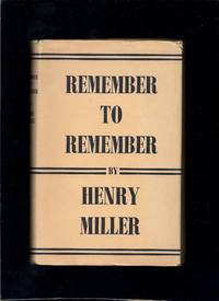 image of Remember to Remember