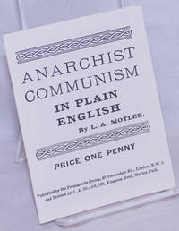 image of Anarchist Communism in Plain English