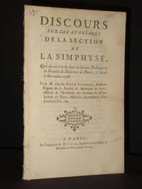 Discours sur les Avantages de la Section de la Symphyse