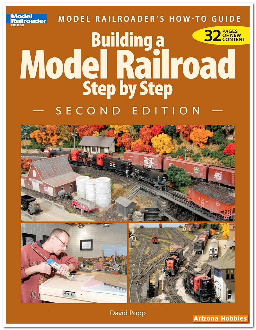 Building a model railroad step by step second edition by for Building a house step by step