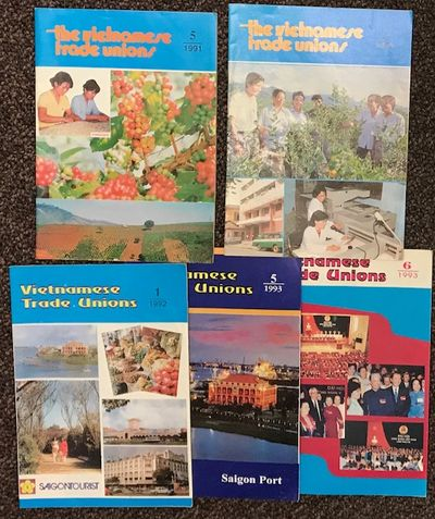 Hanoi: Vietnam General Confederation of Labour, 1993. Five issues of the staplebound magazine, very ...