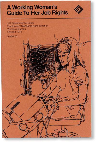 , 1975. Revised Edition. Octavo (20.75cm.); original burnt orange pictorial staplebound wrappers; 34...