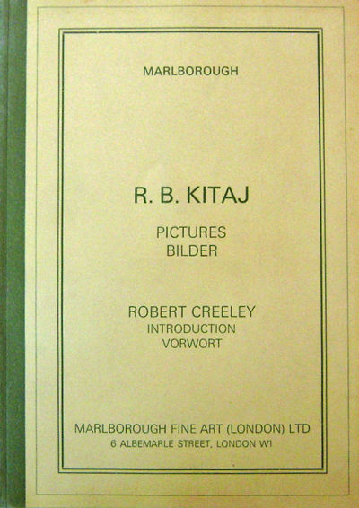 London: Marlborough Fine Art, 1977. First edition. Paperback. Fine. Tall paperbound quarto. 44 pp. I...
