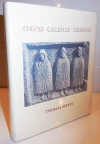 Staves Calends Legends Inscribed