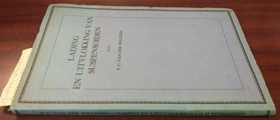 Amsterdam: H.J. Paris, 1927. First Edition. Softcover. 8vo., 134 pages, illustrated, graphs, tables;...