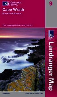 image of Cape Wrath, Durness and Scourie (Landranger Maps)