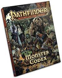 image of Pathfinder Roleplaying Game: Monster Codex