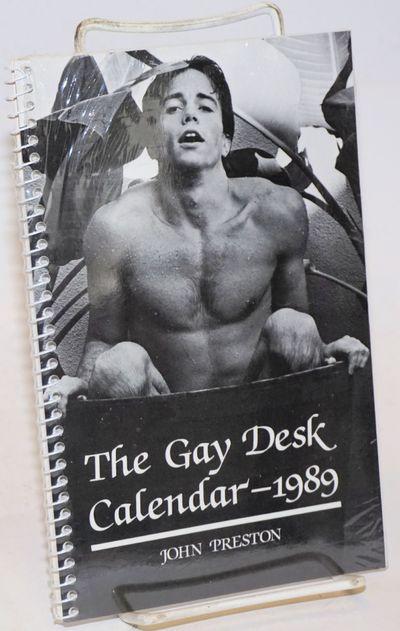 Boston: Alyson Books, 1988. Calendar. 5.5x8.5 inches, introduction, calendar, photos and illustratio...
