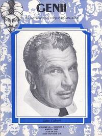 image of Genii: The International Conjurors Magazine: March 1982