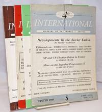 Fourth International: English - language edition of the theoretical organ of the International Executive Committee of the Fourth International [4 issues]