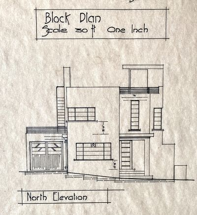 PORTFOLIO OF ELEVATIONS AND PLANS FOR...