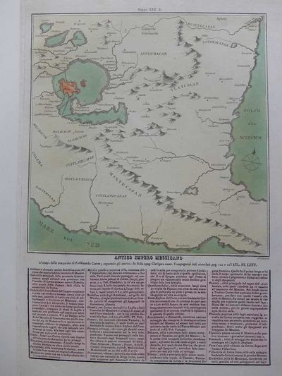 Venice: Tasso, 1826. unbound. very good. Map. Engraving with hand coloring. 15.75