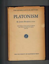 Platonism by Burnet, John - 1928