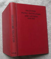Selected Papal Encyclicals and Letters 1928 - 1932
